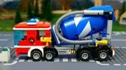 3D動畫組裝攪拌機 組裝工程車視頻