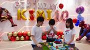 林志穎為KIMI慶祝10歲生日+貼心準備漫威主題派對