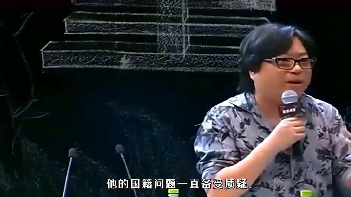 高曉松參加電影頒獎被質疑國籍問題這次終于回應