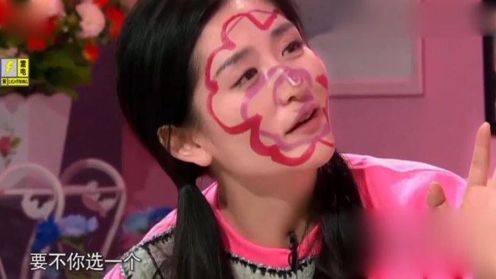 """阿雅現場連線比陳坤還要帥氣的帥哥,謝娜一聽到名字立馬""""瘋""""了"""