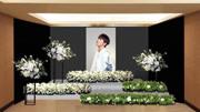 """""""小鬼""""黄鸿升灵堂曝光!摆满白色鲜花,仅开放3天供亲友悼念"""