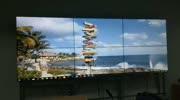 4K高清55寸液晶拼接屏项目案例视频