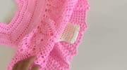 钩针编织漂亮的婴儿背带裙,毛线裙子编织教程,穿着舒适又大方